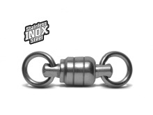 VMC Stainless Ball Bearing Swivel with 2 welded rings